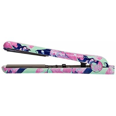Eva NYC Healthy Heat Ceramic Styling Iron, Pastel Marble, 1.25 Inch