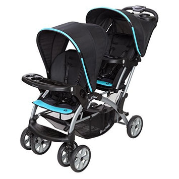 Baby Trend Sit n Stand Double Stroller, Optic Aqua