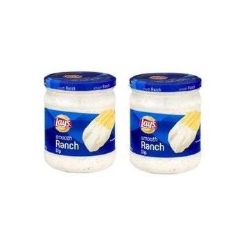 Lay's? Smooth Ranch Dip 15 oz. Jar (Pack of 2)