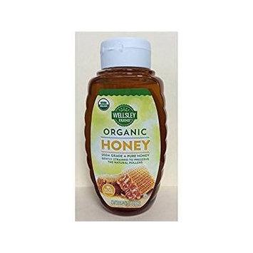 Wellsley Farms Organic Honey, 3 pk./24 oz.
