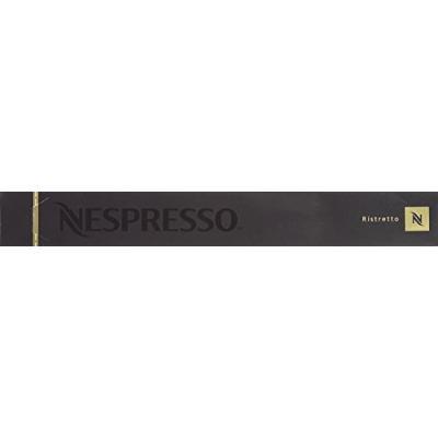 Nespresso OriginalLine, Ristretto - NOT DFkUTw compatible with Vertuoline, 50 Count (Pack of 2)