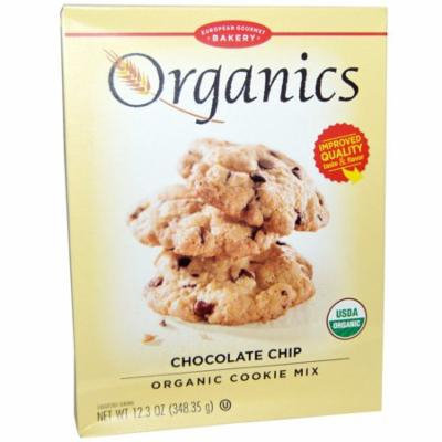 European Gourmet Bakery, Organics, Organic Cookie Mix, Chocolate Chip, 12.3 oz (pack of 2)
