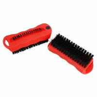2 Pc Combo Fingernail Brushes Scrubbing Scrub Brusher Finger nail Brush 5'' Long
