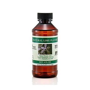 Bakto flavors Natural Lime Extract -4 FL OZ