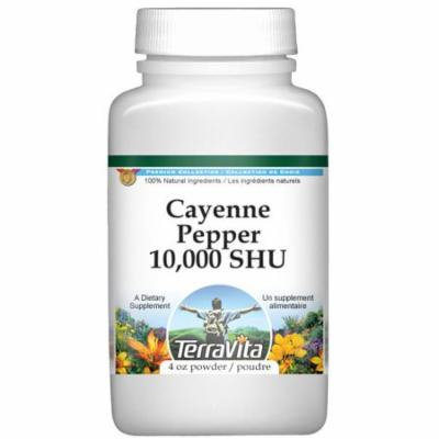 Cayenne Pepper 10,000 SHU Powder (4 oz, ZIN: 521122) - 3-Pack