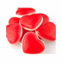 White Belly Gummi Cherry Hearts 5 pounds gummy Valentine Candy