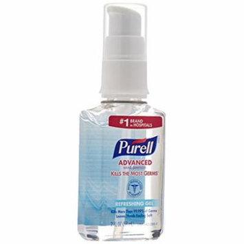 Purell 9606-04 9606-24 Advanced Instant Hand Sanitizer Pump Bottle, 5.479