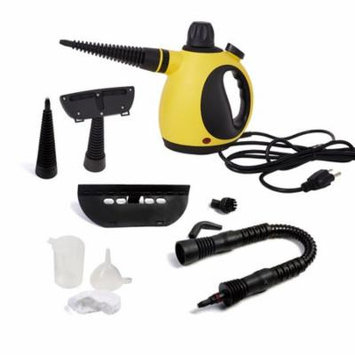 Karmas Product Handheld Steam Cleaner,14 Attachments and Accessories Multi-Purpose Pressurized Cleaners for Stains Removal,Garment,Surface,Bathroom,Kitchen, Floor, Carpet and More