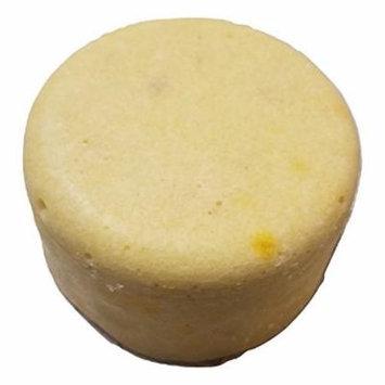 Sugar Puck, Eczema and Dry Skin Formula, Unique Sugar Scrub Soap Bar, Exfoliating, Foaming, Moisturizing and Fizzing, Oatmeal, Milk and Honey Scent, By Diva Stuff