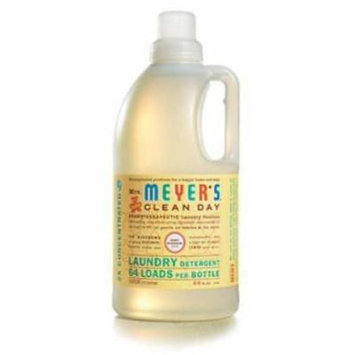 MrsMeyer's Clean Day 64 OZ Baby Blossom Scented Laundry Detergent Liqu Only One