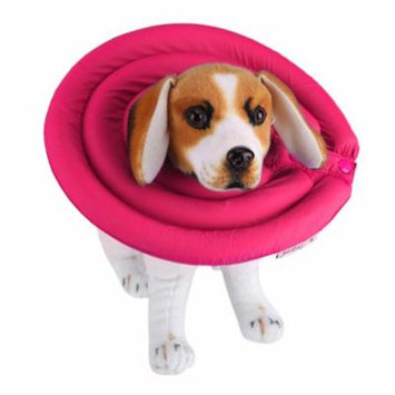 Pet Healing Collar,Pet Protective Collar Elizabethan Cone Collars for Dog Cat Healing Recovery Hairdressing