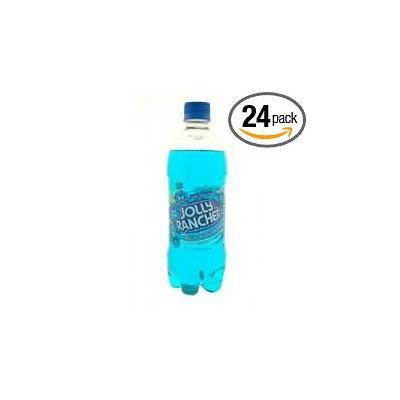 Elizabeth Beverage Jolly Rancher Blue Raspberry Soda, 20 Ounce