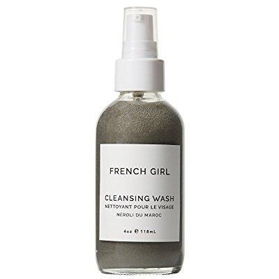 french girl organics - organic / vegan charcoal + neroli du maroc cleansing wash (4 oz)