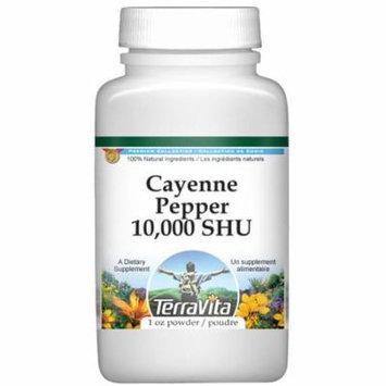 Cayenne Pepper 10,000 SHU Powder (1 oz, ZIN: 521121)
