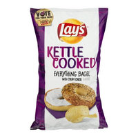LAY'S® Kettle Cooked Everything Bagel with Cream Cheese Potato Chips