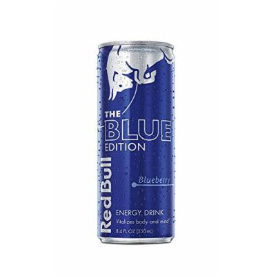 Red Bull Blue Edition, Blueberry Energy Drink, 8.4 Fl Oz Cans, 12 Count