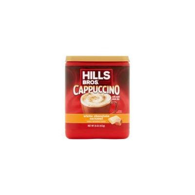 Hills Bros. White Chocolate Caramel Cappuccino Drink Mix, 16 oz - Pack of 6