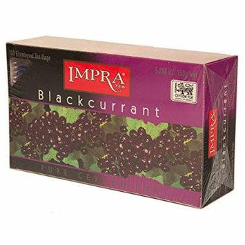 Blackcurrant Tea, 100 enveloped Tea bags (3 Pack)