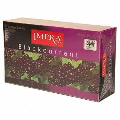 Blackcurrant Tea, 100 enveloped Tea bags (3 Pack)