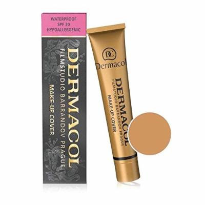Dermacol Make-up Cover - Waterproof Hypoallergenic Foundation 30g 100% Original Guaranteed (BUY 3 AND GET 15ml SATIN MAKEUP BASE FREE)(224)