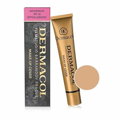 Dermacol Make-up Cover - Waterproof Hypoallergenic Foundation 30g 100% Original Guaranteed from Authorized Retailer (BUY 3 AND GET 15ml SATIN MAKEUP BASE FREE)(218)