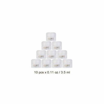 lot of 10 la mer creme de la mer moisturizing cream 0.11 oz / 3.5 ml = 1.1 oz / 35 ml (a $170 value)