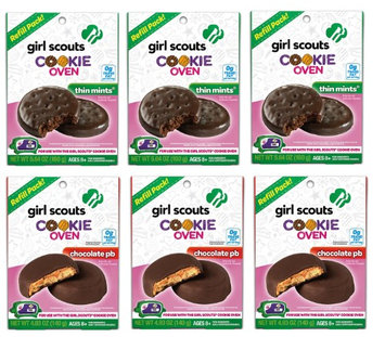 Wicked Cool Toys Girl Scouts Cookie Oven Refill Kit, Set of 6