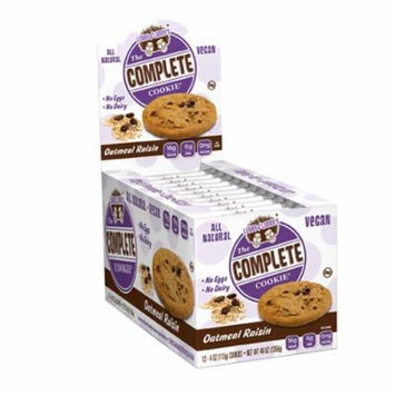Lenny & Larry's, The Complete Cookie, Oatmeal Raisin, 12 Cookies, 4 oz (113 g) Each(pack of 3)