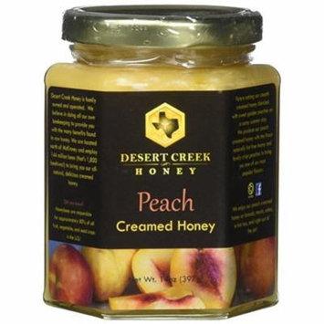 Raw Creamed Honey + Peach