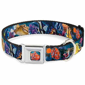 Dog Collar DYHD-Nemo Smiling Full Color - Nemo & Friends Group - Large 15-26