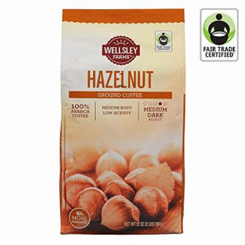 Wellsley Farms Hazelnut Ground Coffee, 32 oz. (pack of 6)