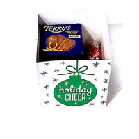 Best Gifts Under 20 , Chocolate Christmas Gift Set Bundle , Green Box Includes Terry's Chocolate Orange Ball and Lindt Lindor Candy , For Birthday Holiday Christmas ,Gifts for Him and Her