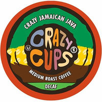 Crazy Cups Flavored Decaf Coffee, for the Keurig K Cups 2.0 Brewers, Crazy Jamaican Java, 22 Count