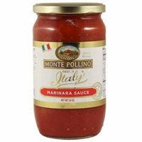 Monte Pollino Marinara Pasta Sauce 24oz (6 Pack) Italy