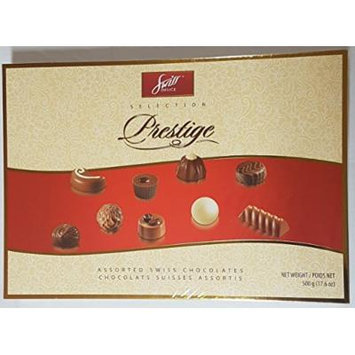 Swiss Delice Prestige Selection Assorted Swiss Chocolates, 500g, 17.6oz {Imported from Canada}