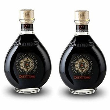 Due Vittorie Oro Gold Balsamic Vinegar Imported from Italy, 8.45fl oz / 250ml (pack of 2)