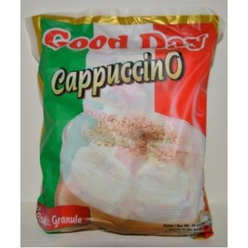 Good Day Cappuccino with Chocolate Granule Instant Coffee Bag 750 Gram (26.45 Oz) 30-ct @ 25 Gram (Pack of 2)