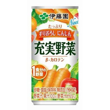 ITO EN Vegetable & Fruit Juice (30 CANS) (190g/CAN)