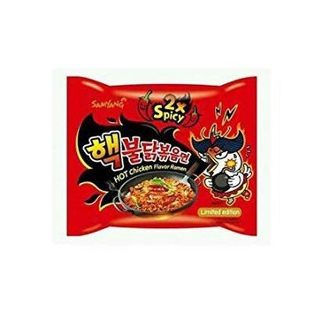 Samyang 2X Spicy Hot Chicken Flavor Ramen, 5Pack (140 g Each) Ck#XDF