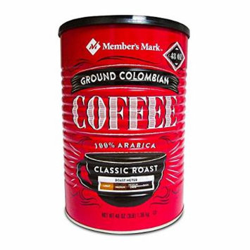 Member's Mark Ground Colombian Coffee (48 oz.) (pack of 2)
