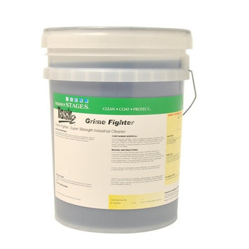 Master STAGES TASK2GF/5 Grime Fighter Super Strength Industrial Cleaner, Task 2, Blue, 5 gal Jug