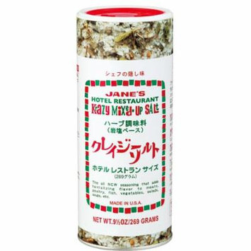 * Crazy Salt herb seasoning (rock salt-based) this taste of restaurant with a single large capacity 269g