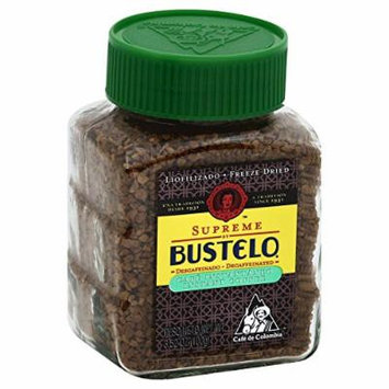 Bustelo Freeze Dried Decaffeinated Instant Supreme Coffee, 3.52 oz