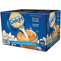 International Delight French Vanilla, 192 Count Single-Serve Coffee Creamers, Special Valuue 2 Pack