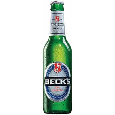 Beck's Non-Alcoholic Beer, 12-oz (350 ml) Case Of 12 Glass Bottles