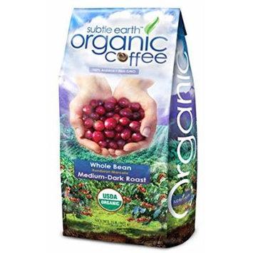 Cafe Don Pablo Subtle Earth Organic Honduran Marcala Medium-Dark Roast Whole Bean Coffee, 2 lbs (Pack of 5)