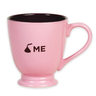 Hershey's by Fitz and Floyd® Sweet KISSES Kiss Me Mug in Pink