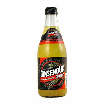 Ginseng up Orange Soda, 12oz (Pack of 24)