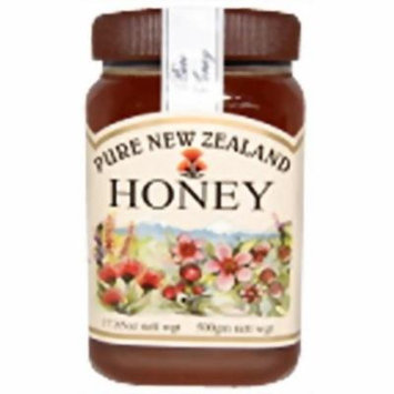 Airborne (New Zealand) Pure Multifloral Natural Honey 500/17.85oz.