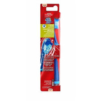 Colgate 360 Surround Battery Power Toothbrush with Vibrating Bristles (Multicolo